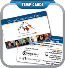 Temporary Cards